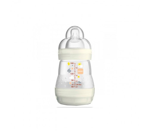 Mamadeira First Bottle Anti-cólica - Neutra - 160 ml - MAM