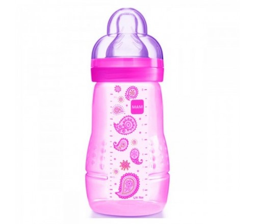 Mamadeira Easy Active Fashion Bottle 270ml - Girls - MAM