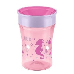Copo de Transição NUK - Magic Cup Girls 230ml (+8 meses)