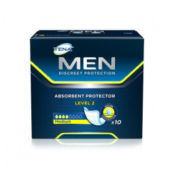 Absorvente Masculino Tena Men Level 2 (10 Absorventes por pacote) Mensa Shop