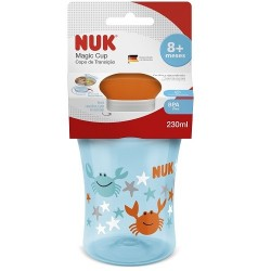 Copo de Transição NUK - Magic Cup Boys 230ml (+8 meses)  Mensa Shop