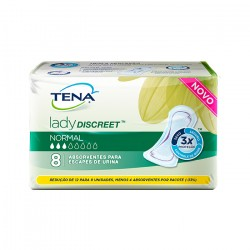 Absorvente Tena Lady Discreet Normal (8 absorventes por pacote) Mensa Shop