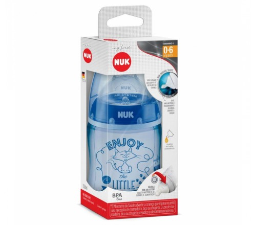 Mamadeira My First Boys 0-6 meses - 150ml - NUK